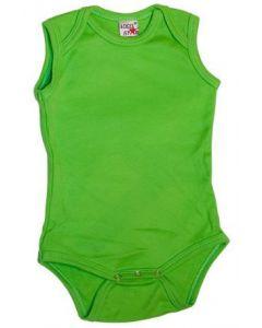 Logostar sleeveless body lime
