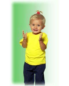 ETS 150 baby t-shirt yellow