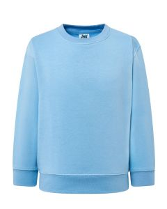 Kids sweatshirt sky blue