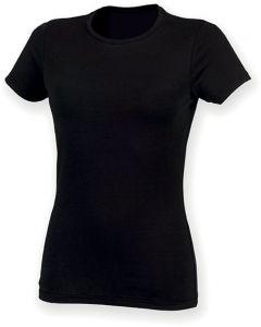 Womens Feel Good Stretch Crew Neck T-Shirt